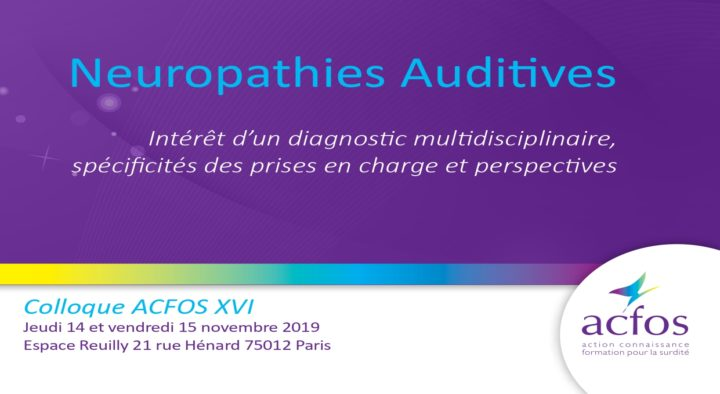 Neuropathies Auditives – 2019