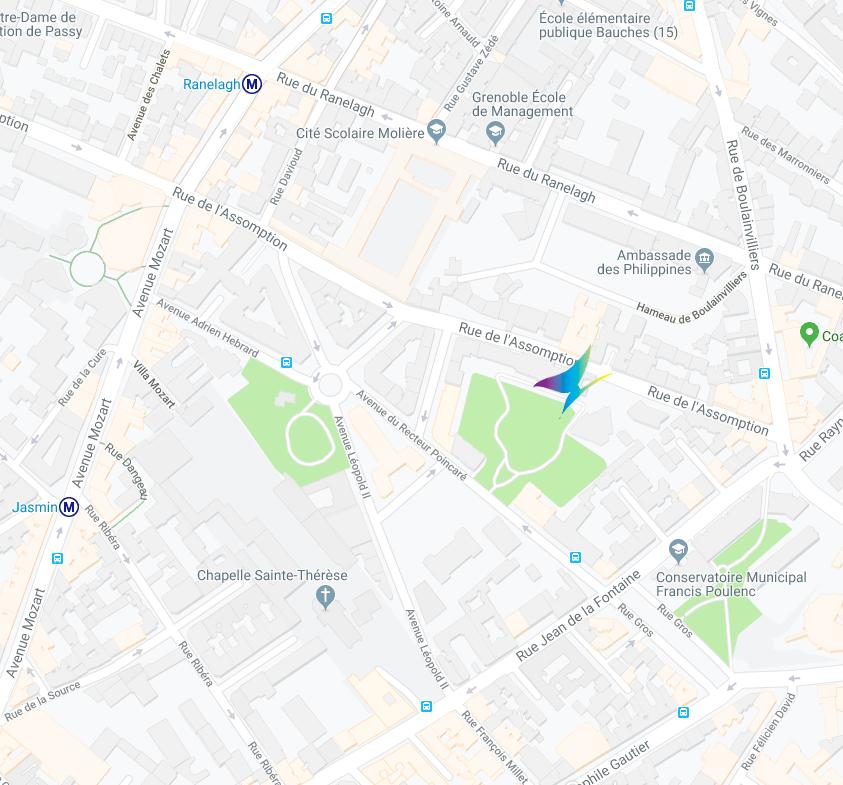 Espace Assomption - 17 rue de l'Assomption 75016 Paris