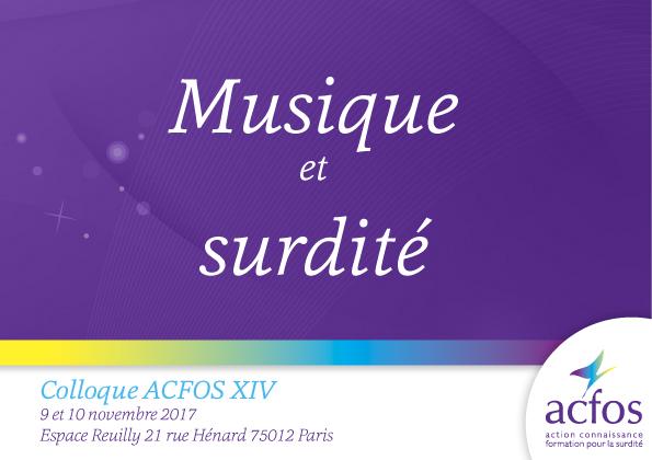 Musique et Surdité – 2017